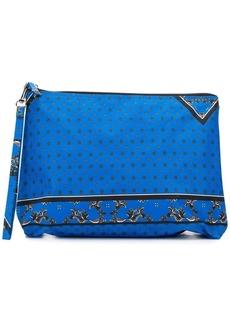 Ganni floral print makeup bag
