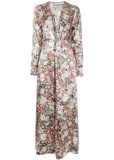 Ganni floral long dress