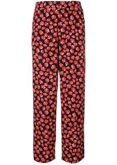 5c4aff0a497e Ganni floral print trousers