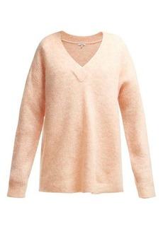 Ganni Callahan V-neck sweater