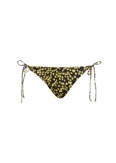 Ganni Caradonna floral-print bikini briefs