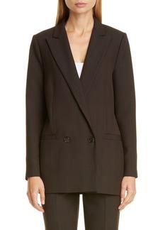 Ganni Check Suiting Blazer