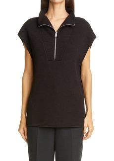 Ganni Half Zip Sweater