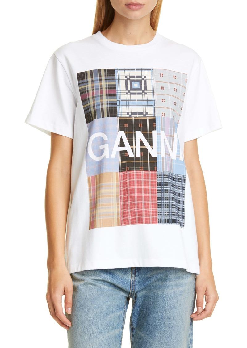 Ganni Logo Graphi Tee