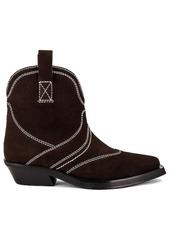 Ganni Low Shaft Western Boot