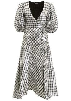 Ganni Lurex Lagarde Dress