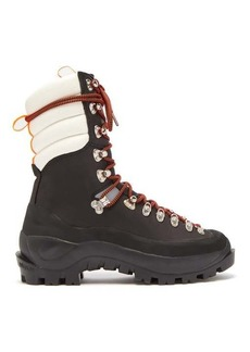 Ganni Marianna leather hiking boots