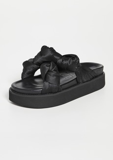 GANNI Mid Knotted Sandals