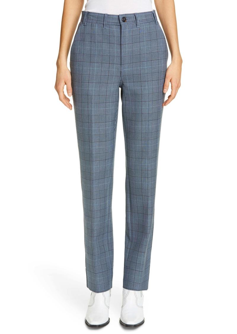 Ganni Plaid Suiting Pants