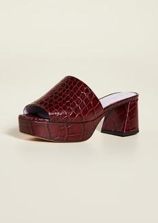 GANNI Plateau Slide Sandals