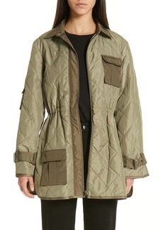 Ganni Quilted Ripstop Jacket