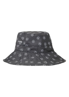 Ganni Recycled Fabric Bucket Hat