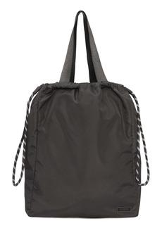 Ganni Recycled Fabric Drawstring Bag