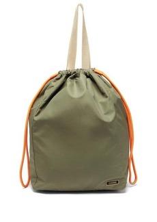 Ganni Recycled-shell bucket bag