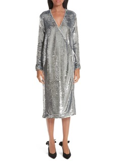 Ganni Sequin Dress