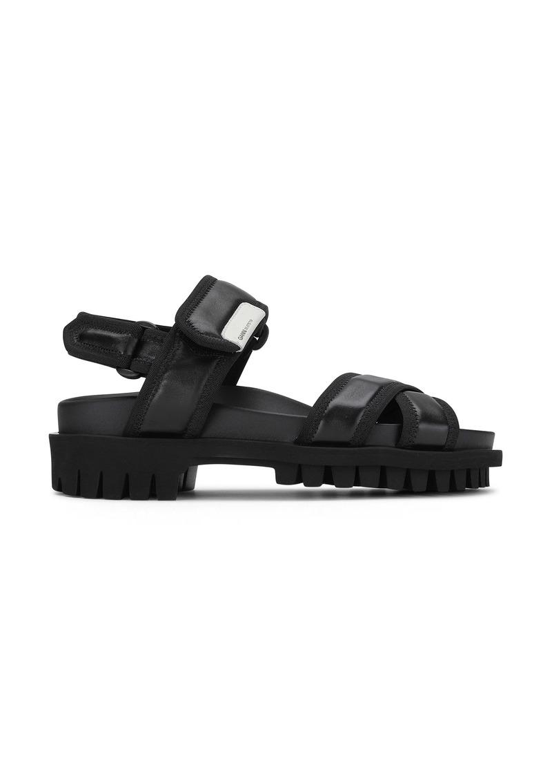 Ganni Strappy Hiking Platform Sandal (Women)