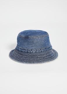 GANNI Teddy Denim Hat