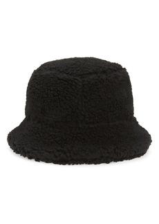 Ganni Teddy Fleece Bucket Hat