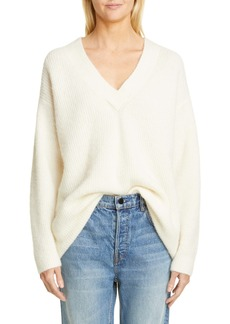 Ganni V-Neck Sweater