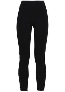 Ganni Woman Jersey Leggings Black