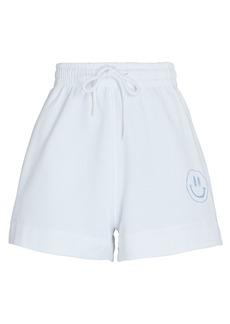 Ganni Isoli Cotton Sweat Shorts