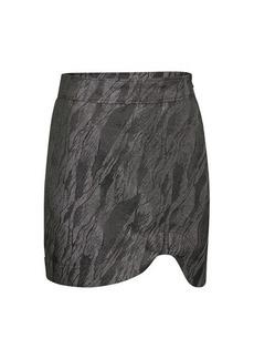 Ganni Jacquard print skirt