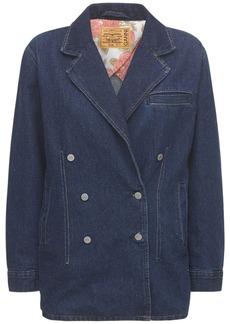 Ganni Levi's Dark Indigo Denim Jacket