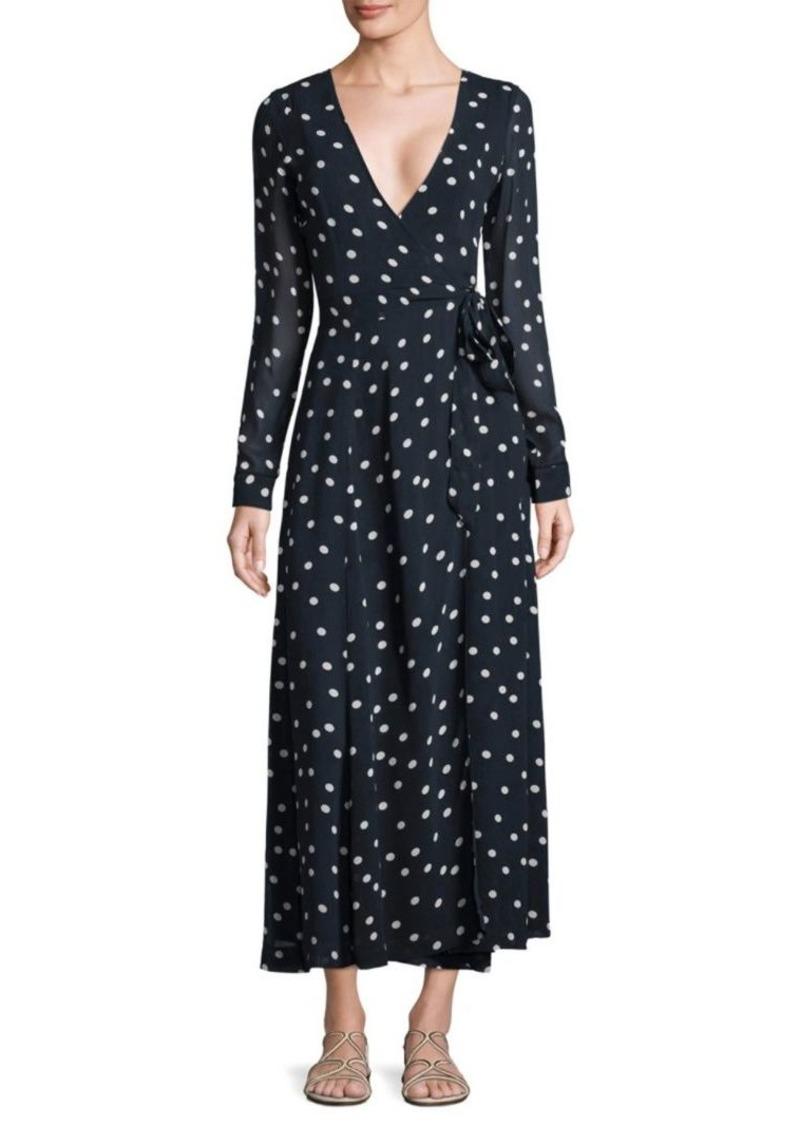 f4361280 Ganni Marceau Goergette Wrap Dress | Dresses