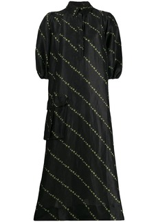 Ganni maxi shirt dress