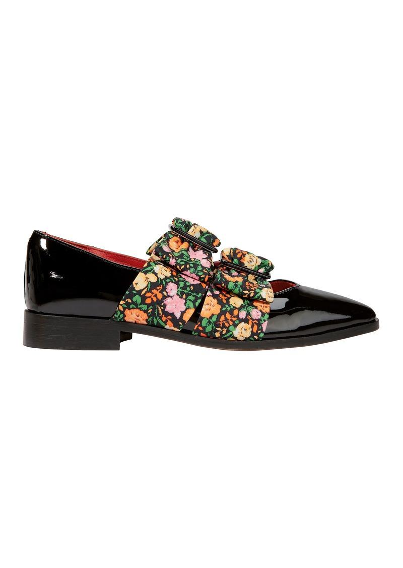 b4c94272b0b Maya Floral Flat Loafers