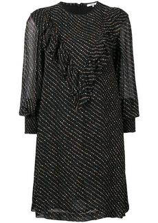 Ganni Mulltin micro floral print dress