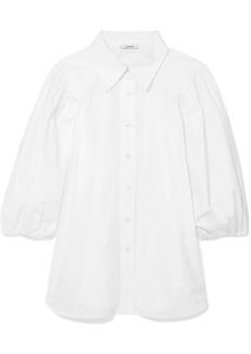 Ganni Olayan Cotton-poplin Shirt