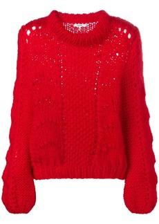 Ganni oversized knitted jumper