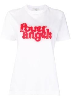 Ganni power angels T-shirt