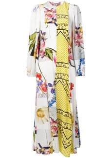 Ganni printed maxi dress