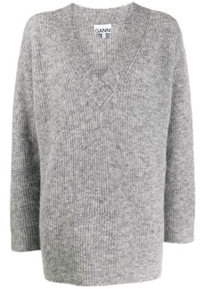 Ganni ribbed oversize jumpers