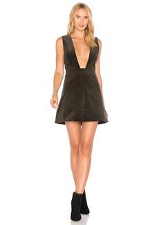 Ganni Ridgewood Plunging Dress