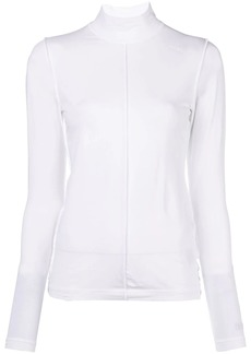 Ganni roll-neck top