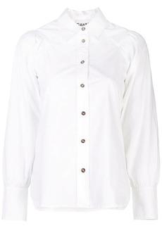 Ganni ruched shirt