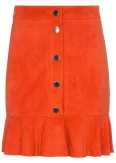 Ganni Salvia mini skirt