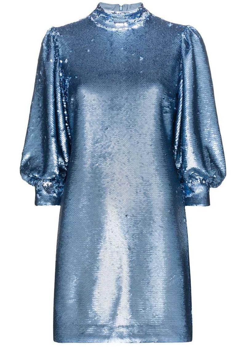 Ganni sequin mini dress