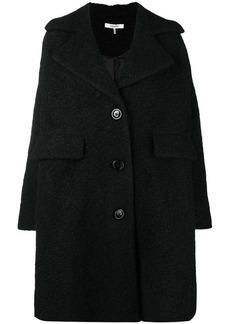 Ganni single breasted midi coat