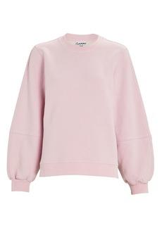 Ganni Software Isoli Crewneck Sweatshirt