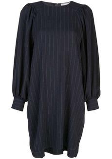 Ganni striped shift dress