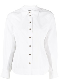 Ganni tailored blouse