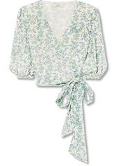Ganni tilden cropped floral print mesh wrap top abv3a3962e2 a