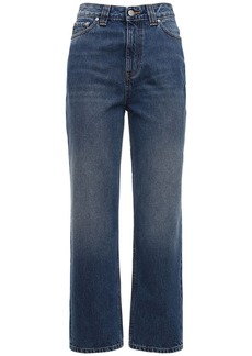 Ganni Washed Straight Jeans