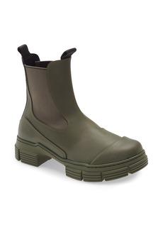 Women's Ganni Recycled Rubber Chelsea Rain Boot