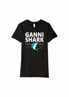 Womens Ganni Shark Doo Doo Gift Premium T-Shirt