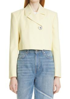 Women's Ganni Summer Suiting Crop Jacket